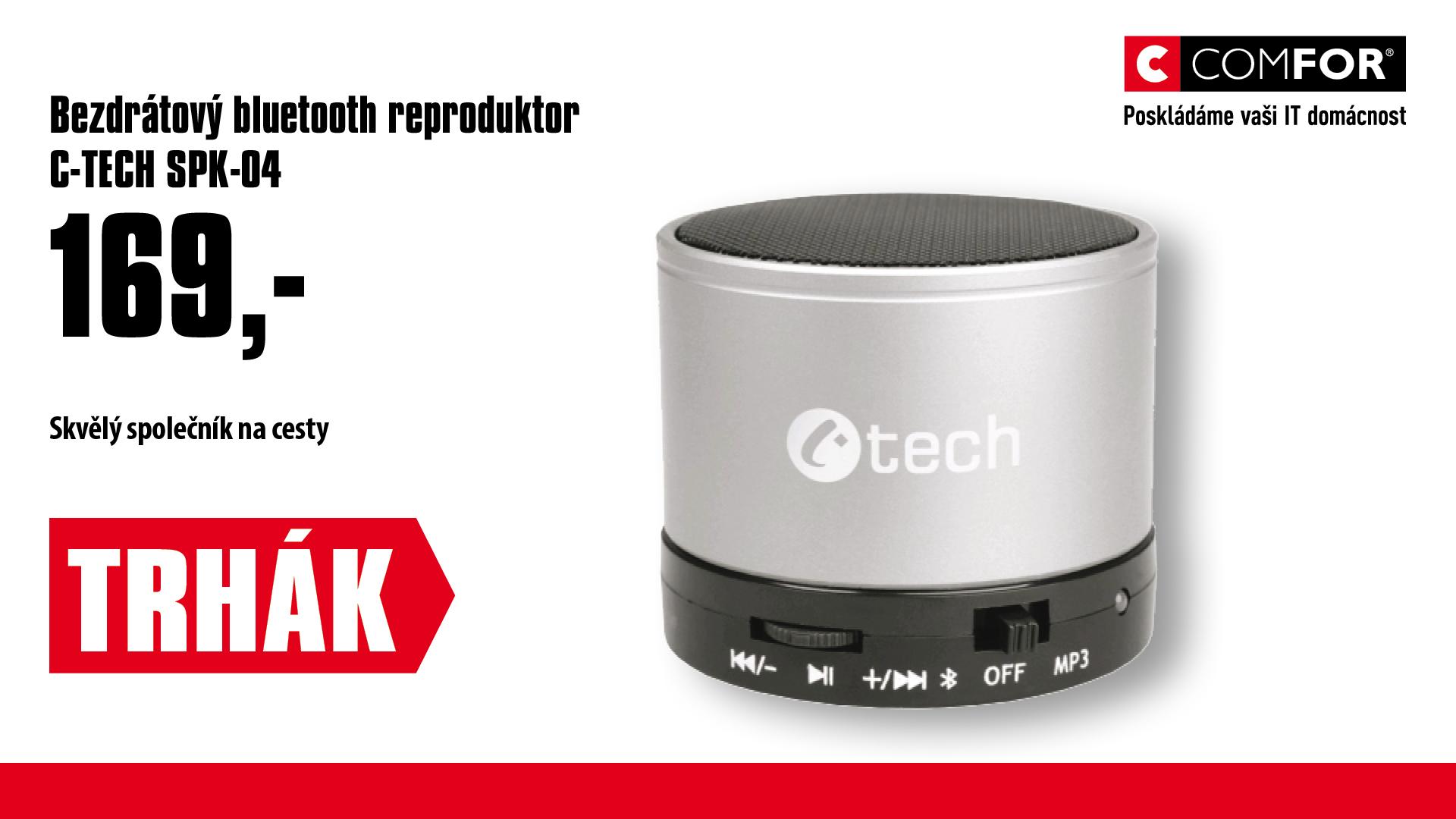 Bluetooth repro C-TECH SPK-04S